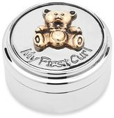 Godinger My First Curl Bear and Gold Accent Box