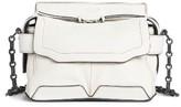 Rag & Bone Micro Pilot Leather Satchel - White