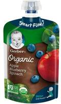 Gerber Organic 2nd Foods Baby Food Pouch Apple Blueberry & Spinach - 3.5oz