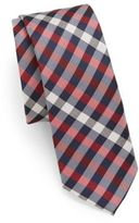 Original Penguin Buffalo Check Silk Tie
