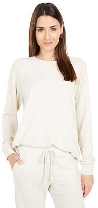 Michael Stars Madison Brushed Jersey Isla Pullover Tunic (Stucco) Women's Clothing