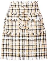 MSGM tweed mini skirt