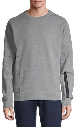 Puma Long-Sleeve Cotton Sweatshirt