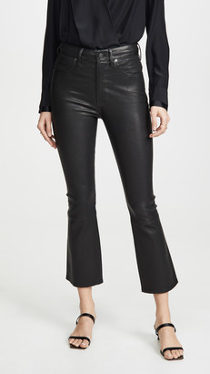 Citizens of Humanity Demy Leather Cropped Flare Pants