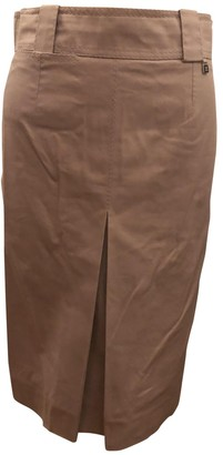 Louis Vuitton Pink Cotton - elasthane Skirt for Women