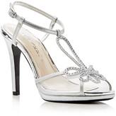 Caparros Claudia Metallic Platform High Heel Sandals