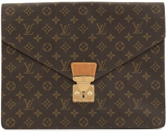 Louis Vuitton 1990s Pre-Owned Monogram Envelope Clutch