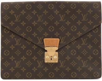 Louis Vuitton Pre Owned 1990s monogram envelope clutch