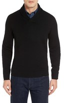 Nordstrom Men's Shawl Collar Cashmere Pullover