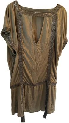 Sass & Bide Khaki Viscose Dresses