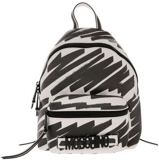 Moschino Highlighter Zip Around Backpack