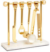 Jonathan Adler Barbell Barware Set