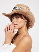 Free People Kuba Band Straw Hat