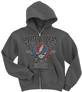 Liquid Blue Men's Grateful Dead American Music Hall Zip Hooded Sweatshirt