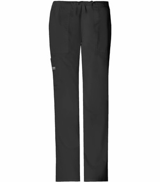 Cherokee Women's Tall Workwear Scrubs Core Stretch Drawstring Cargo Pant (2X-Tall)