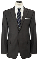 John Lewis Regular Fit Bobby Mini Birdseye Suit Jacket, Charcoal