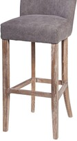 Thumbnail for your product : Design Tree Home Handmade Duval Frost Grey Bar Stool