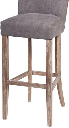 Design Tree Home Handmade Duval Frost Grey Bar Stool