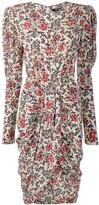 Isabel Marant Frea floral-print draped dress