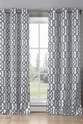 Duck River Textile Ashmont Blackout Grommet Curtain - Set of 2 - Grey