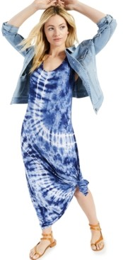 Style&Co. Style & Co Petite Tie-Dyed Maxi Dress, Created for Macy's