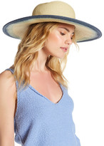 San Diego Hat Company Natural Ombre Floppy Hat