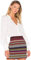Trina Turk Spontaneous Blouse in White
