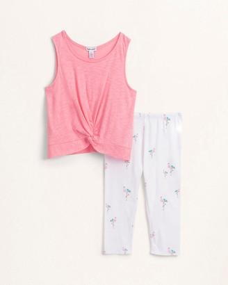 Splendid Little Girl Flamingo Legging Set