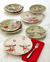 Deer Friends Dinner Plates, Set of 4