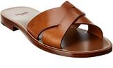 Celine Lerins Crisscross Leather Sandal