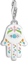 Thomas Sabo Mexican Hand of Fatima and Nazar's Eye sterling silver charm