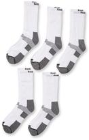 Reebok Knit Mid Calf Socks (5 Pack)