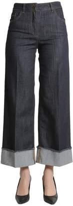 Moschino Flared Straight-Cut Pants