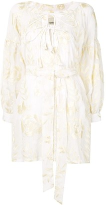 Bambah Rose Embroidered Dress