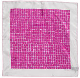 Tom Ford Abstract Silk Pocket Square