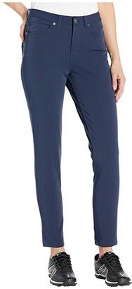 Nike Fairway Jean Pants Slim (Obsidian/Obsidian) Women's Jeans
