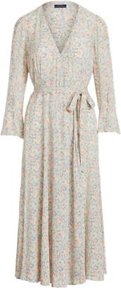 Ralph Lauren Floral Wrap Dress