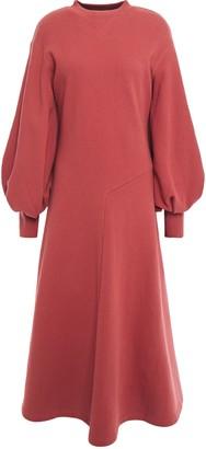GOEN.J French Cotton-terry Midi Dress