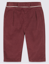 Marie Chantal Marie-chantal Pure Cotton Bow Cord Trousers