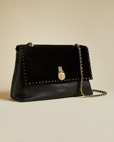 Ted Baker Padlock Scallop Detail Leather Bag