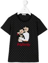 Dolce & Gabbana family patch T-shirt - kids - Cotton - 6 yrs
