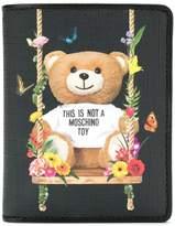 Moschino teddy bear printed wallet