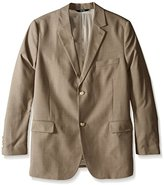 Perry Ellis Men's Big-Tall Solid Texture Suit Jacket