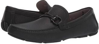 Salvatore Ferragamo Front 4 Loafer (Black) Men's Shoes