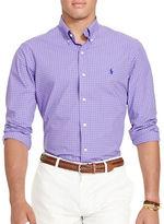 Polo Ralph Lauren Checked Cotton Poplin Shirt
