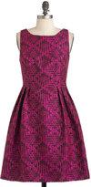 Rock the Block Print Dress