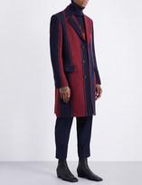 Vivienne Westwood City striped wool coat