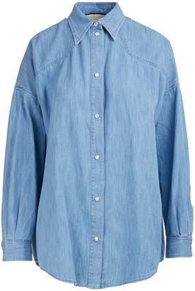 Gucci Denim shirt with patches