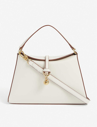 Nanushka Noya mini charm-embellished vegan-leather bag