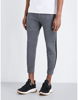 Neil Barrett Slim-fit Cropped Neoprene Jogging Bottoms